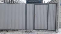 Забор из профнастила качество и надежность.