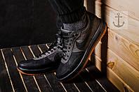 Весенние, летние кроссовки мужские. Черный+серый Nike!