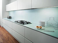 Крашеное стекло Lacobel Blue Pastel REF1603 ST
