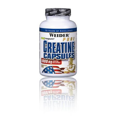 Weider Pure Creatine Capsules 100 caps