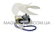 Мотор вентилятора + крыльчатка для холодильника Beko IS-23213ARC 4144890201 (код:08248)