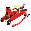 Домкрат гидравлический подкатной 2т VITOL Iron Hand ДП-20065K / 300мм /поворотная ручка/ кейс/ 6,5кг
