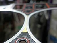 Оригинальная польская прокладка головки блока цилиндров Ланос 1.4литра с двиг МеМЗ 317-1003020-01
