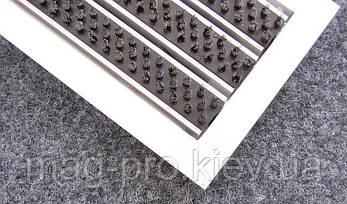 Грязезащитная решетка ЛЕН наполнение (щетка), фото 2