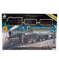 Железная дорога 6668-5-6 с дымом, дорога 162-90 см