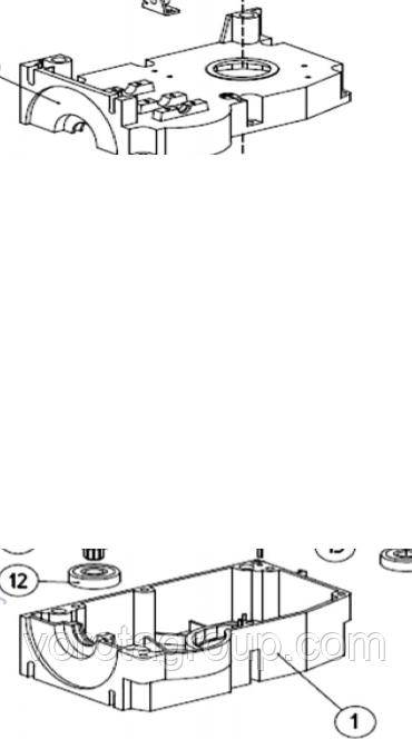 Корпус (в сборе) AN-MOTORS ASW.4001