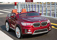 Детский двухместный электромобиль BMW X7 M 2768 EBLRS-3 красный