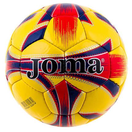 М'яч футбол YW Joma-4 Red/Blue/Yellow Joma-4-YDXN-RBYB, фото 2