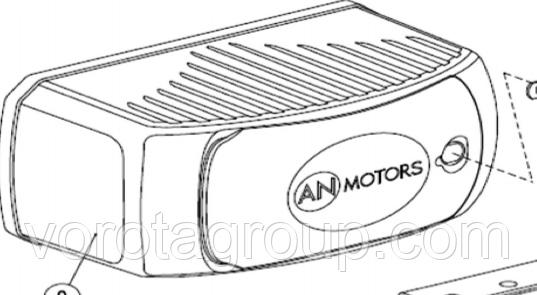 Крышка AN-MOTORS ASW.4009