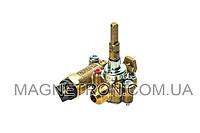 Кран газовый средней горелки для газовой плиты Indesit C00111240 (код:08975)