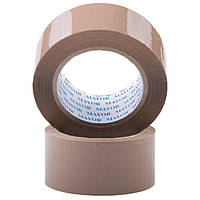 Упаковочная клейкая лента 48/100м 40мкм  коричневая
