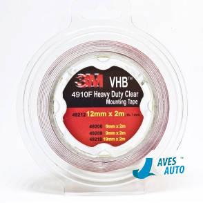 Двухсторонний скотч 3М VHB 4910F прозрачный 12 мм x 2 м, фото 2