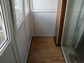 Внутренняя отделка балкона и монтаж откосов