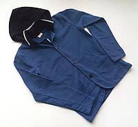 Тёплая кофта с капюшоном на пуговицах для мальчика By.lid-ma-r.