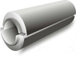 Пенопластовая скорлупа толщиной 20мм для труб разного диаметра