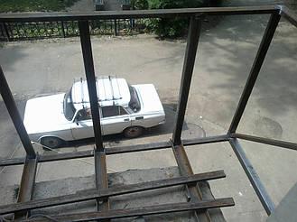 Демонтаж старого балкона до плиты