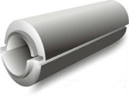 Пенопластовая скорлупа толщиной 30мм для труб разного диаметра