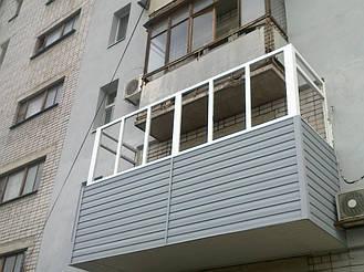 Балкон с выносом в 9 этажном и 5 этажном доме на 30-40 см  13