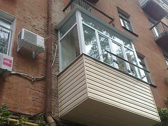Готовый балкон