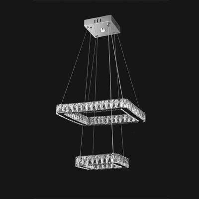 Люстра светодиодная LED 40W 9034-47/5+3