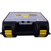Ящик для электроинструмента пластмассовый с органайзером в крышке Stanley 1-92-734