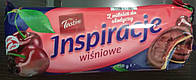Печенье Tastino Inspiracje Wisniowe (с вишневым мармеладом в молочном шоколаде) 150 г. Польша