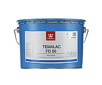 Эмаль алкидная TIKKURILA TEMALAC FD 50 антикоррозионная, TCL-транспарентный, 9 л