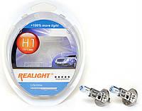 """Автомобильные галогенные лампы """"Realight"""" (H1)(+100%)(12V)(55W), фото 1"""