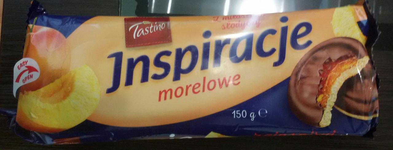 Печенье Tastino Inspiracje Morelowe (Тастино с персиковым мармеладом) 150 г. Польша