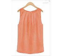 """Женская блузка """"Каприз"""" - распродажа персик, 42"""