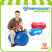 Мяч - арахис LiveUp PEANUT BALL, синий