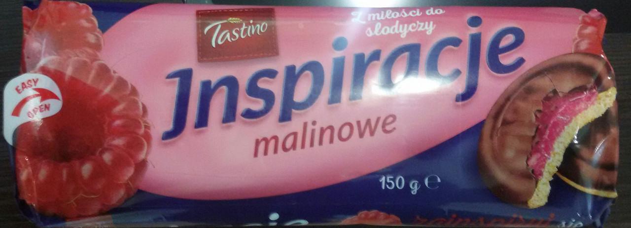 Печенье Tastino Inspiracje Malinowe (Тастино с малиновым мармеладом)