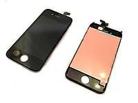 Модуль для iPhone 4S (дисплей + тачскрин), черный, копия высокого TianMa