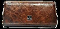 Стильный женский кошелек из натуральной кожи коричневого цвета Bobi Diqi QQY-000187