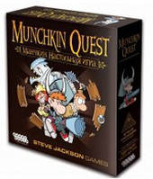 Манчкин Квест (Munchkin Quest) настольная игра
