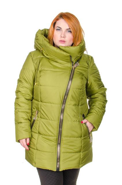 Зимняя женская верхняя одежа батал