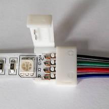 Коннектор для светодиодных лент OEM №8 10mm RGB joint wire (провод-зажим), фото 2