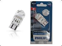 Светодиодная лампа Philips W21/5 Vision LED Red 12V 12835REDB1 (1шт.)