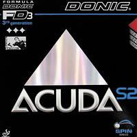 Накладка для настольного тенниса Donic Acuda S2 б/у
