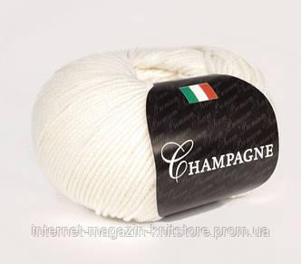 Пряжа Сеам Champagne белый