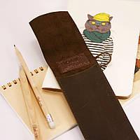 Чехол для ручек Орех (+эко-ручка и карандаш)