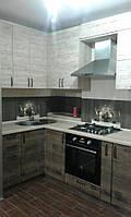 Кухня из ДСП, лофт, модная,деревянная