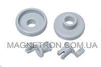 Комплект колес (2шт) + держателей (2шт) для ящика посудомоечной машины Bosch 066320 (код:12470)