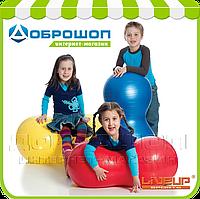 Фитбол в форме арахиса LiveUp PEANUT BALL, красный