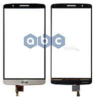 Сенсор LG G3 D855 золотой
