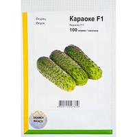 Семена огурца Караоке F1 (Rijk Zwaan / АГРОПАК+) 100 семян - партенокарпик, ранний гибрид (50 дней)