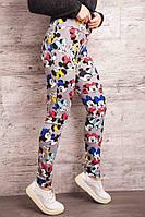 Модные женские  лосины с  Минни Маус