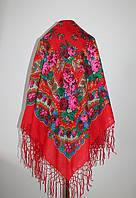 Українська червона хустка Любов ( Украинский красный платок Любовь)