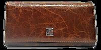 Женский кошелек из натуральной кожи коричневого цвета Bobi Diqi QQY-244092