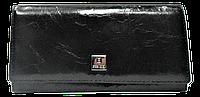 Женский кошелек из натуральной кожи черного цвета Bobi Diqi QQY-244078